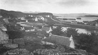 Circa 1900 - Kyleakin from side of Craigard