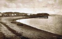 Circa 1910 - Kyleakin from the Lump. Note the wooden pier built to service the mail boat from Kyle and Portree.