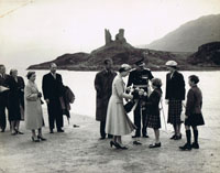 1956 - Royal Visit to Kyleakin: