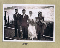 3rd January 1940 - at the Cliffe, Kyleakin: