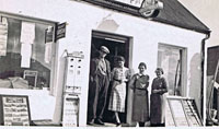 1937/38 - Outside Cameron's Stores, Kyleakin: