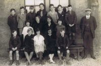 Kyleakin Public School 1925 - Big Room - Headmaster Mr MacIver